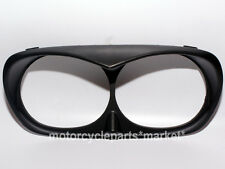 Matte Black Headlight Bezel Scowl Outer Fairing For Bad Boy Harley Road Glide 98