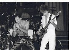 QUEEN BAND LIVE PHOTO 1984UNIQUE IMAGE UNRELEASED HUGE 12 INCH RARE BLACK/W TINT