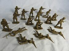AIRFIX WWII Russian Toy Soldiers (54MM) 17 in 6 poses, Special Soft plastic