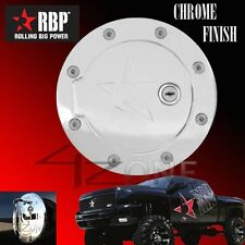 RBP GAS DOOR W/ lock 92-99 SUBURBAN 94-99 TAHOE YUKON 99-2000 ESCLADE CHROME