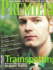 PREMIERE N°232 JUILLET 1996 MCGREGOR/ CANNES/ BURTON/ ANNAUD/ GAYET/ DESPLECHIN