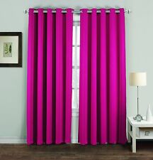 Eyelet BlackOut Thermal Ring Top 46x54 46x72 66x54 66x72 66x90 90x90 Curtains