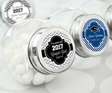 60 Personalized Graduation Party Candy Jars Favors Lot