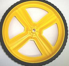 7105711YP OEM Murray High Wheel 12X2 Yellow Lawnmower Wheel 7101708MA