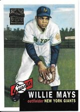 Willie Mays 1997 Topps Mays Reprints #3 1953 New York Giants