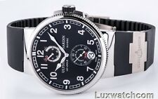 ULYSSE NARDIN MARINE CHRONOMETER MANUFACTURE 1183-126-3/62 MENS WATCH