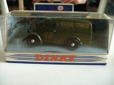 "Dinky Matchbox 1950 Ford E83W 10 CWT Van ""Radio Times"" in Green on 1:43 in Box"