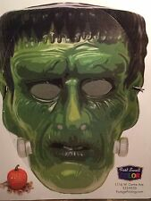 Halloween Mask Cutout FRANKENSTEIN Portage MI Printing With Head Strap Costume
