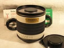 Unused 500mm F6.3 Fast Phoenix TDX T-Mount Mirror Lens w/Box