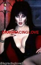 "Cassandra Peterson ""Elvira"" ""Mistress of the Dark"" SEXY"" ""Pin-Up"" PHOTO! #(3b)"