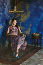 NWT Anthropologie Mural Maxi Dress by Vanessa Virginia Size 8
