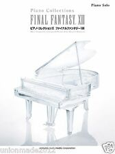 FINAL FANTASY XIII 13 Piano Collections Score Square Enix GAME MUSIC sheet Book