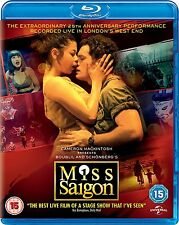 MISS SAIGON 25th Anniversary Edition BLURAY in Inglese NEW .cp