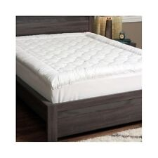Padded King Size Top Mattress Pad Bed Protector Cover Topper Bedding Down Cotton