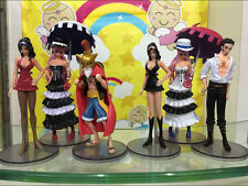 One Piece Anime Manga Figuren Set 6 Stück H:12-14cm Neu
