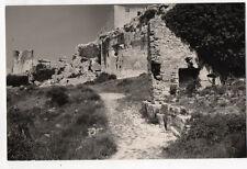 PHOTO ANCIENNE - Les Baux de Provence 1953 Alpilles France Paysage Vintage