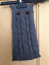 Dog Jumper Size XS Dark Grey