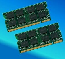 2GB 2x1GB DDR2 667Mhz PC2 5300 DIMM Memory RAM Non ECC For Laptop 200 Pin 2G