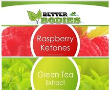 100 Raspberry Ketones 100 Green Tea Colon Cleanse Slimming Diet Weight Loss