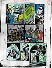 Original 1991 Moon Knight 22 page 4 Marvel Comics color guide art: 1990's