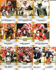 2012 LEAF DRAFT GOLD NICE (10) CARD ROOKIE LOT SEE LIST & SCAN FREE COMBINED S/H