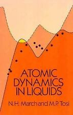 Atomic Dynamics in Liquids, Tosi, M. P., March, N. H., Acceptable Book