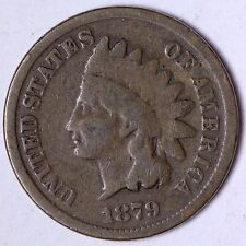 G+ 1879 Indian Head Cent Penny R7TM SW