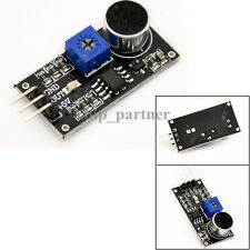 3Pin Microphone Sensor High Sound Sensitivity Detection Module For Arduino Car