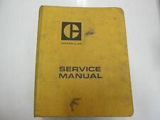 Caterpillar 657 666 Tractor Scraper Specifications Service Repair Manual BINDER