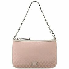 Nine West Mini 9s Sateen Clutch Pink Color