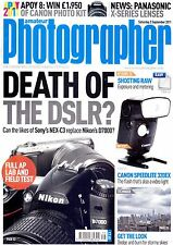 AP magazine with  Nikon D7000  Sony NEX-C3  Canon Speedlight  320EX    3.9.2011