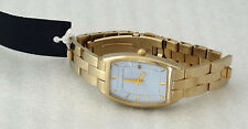 Fcuk Time F1V30652 Gold Tone Case Gold Tone Stainless Steel Band Men's Watch