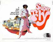 Super Fly Poster 02 A2 Box Canvas Print