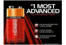 12 NEW DURACELL QUANTUM 9V 9 VOLT BATTERIES, SUPERIOR LIFE COMPARED TO OTHERS