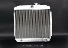 NEW 3 ROWS ALUMINUM RADIATOR 1955-1957 Chevy Chevrolet Bel Air V8 ENGINE