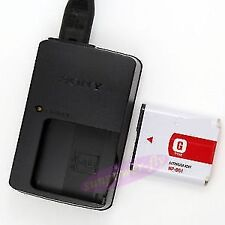 New Compatible G Type Battery NP-BG1 + Bc-csg charger For sony camera