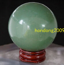 100% Natural Aventurine CRYSTAL BALL SPHERE 50MM + STAND
