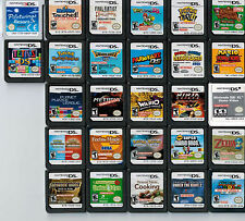 Lot of 27 Nintendo NDS DS 3DS NFR Not For Resale Store Demo Test Game Cartridges