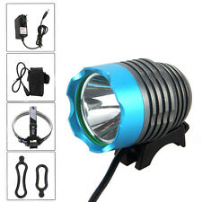 Rechargeable 5000 Lumen CREE XM-L T6 LED Headlight Bicycle Bike Head Light Torch