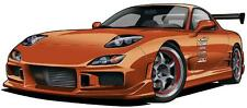 Mazda RX-7 Street Racer Cartoon Car Art Garage Wall Decal Sticker Graphic NEW