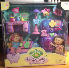 NEW-Cabbage Patch Lil' Sprouts Best Friends Sleepover Playset
