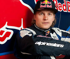 Kimi Raikkonen UNSIGNED photo - G1296 - Finnish racing driver
