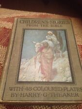 CHILDRENS STORIES FROM THE BIBLE RETOLD BY BLANCHE WINDER
