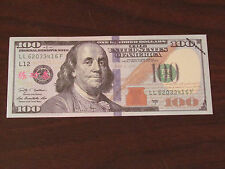 1 $100 DOLLAR PROP/TRAINING MONEY says United States! now with no shine!!