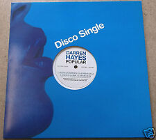 "DARREN HAYES Popular UK 4-trk promo vinyl 12"" single Jason Nevins mixes UNPLAYED"