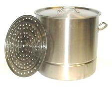 75 Quart Heavy Duty Stainless Steel Stock Beer Brew Kettle Tamale Pot BA62