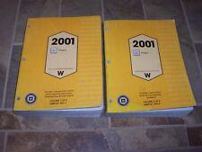 2001 Oldsmobile Intrigue Workshop Shop Service Repair Manual GX Gl GLS 3.5L V6