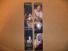 DAVID CARRADINE TV KUNG FU 2 BOOKMARKS KILL BILL DEATH RACE 2000