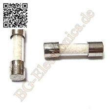 10 x SI F 800mA 250V flink Feinsicherung Glassicherung 5x20mm fuse Eska  10pcs