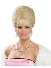 Adult High Society Princess Blonde Wig 50s 60s Halloween Costume Womens